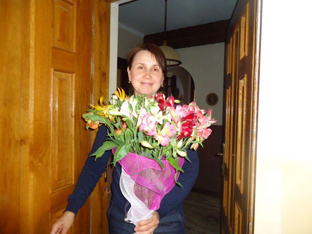 Поздравление с днём рождения прикольные короткие тете фото 962